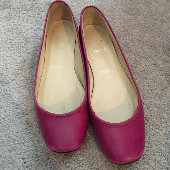 b99a302322b6 Christian Louboutin Shoes - Christian Louboutin Gozul Flats